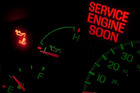 """6 Common Reasons Your """"Check Engine"""" Light Is On 