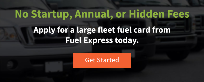 Apply for a Large Fleet Fuel Card