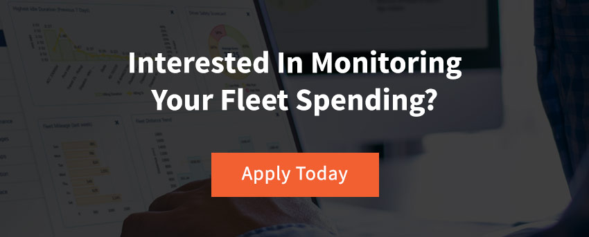 Fleet Management Services Monitor Spend CTA